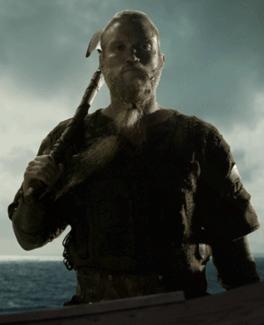 Leif en la serie, interpretado por Diarmaid Murtagh.