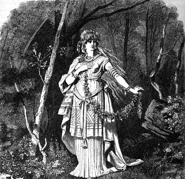 Freya por Carl Emil Doepler, 1882.