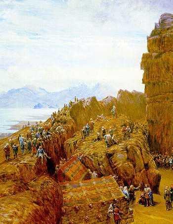 El althing islandés en sesión, como lo imaginó en 1870 el artista británico William Gershom Collingwood.