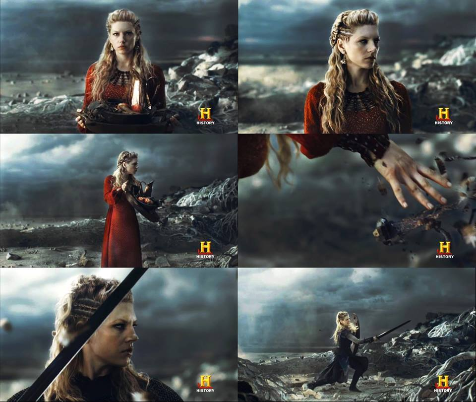 Lagertha como Freyja o Thrud.