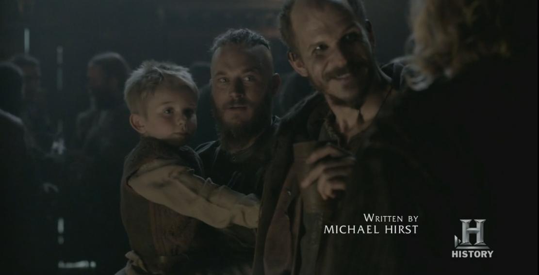 Floki y Ragnar.