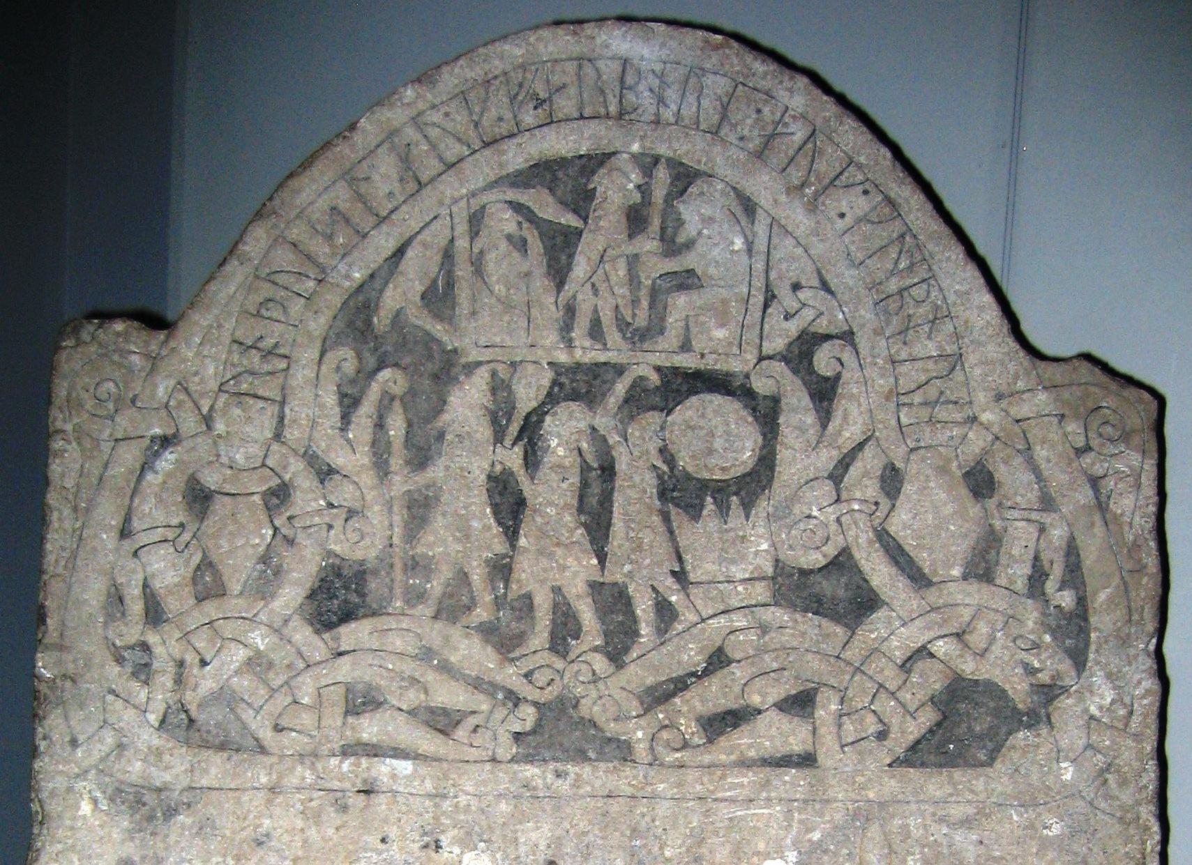 Piedra rúnica G 181 de Gotland.