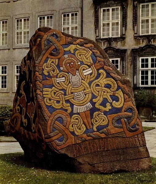 Piedra rúnica de Jelling.