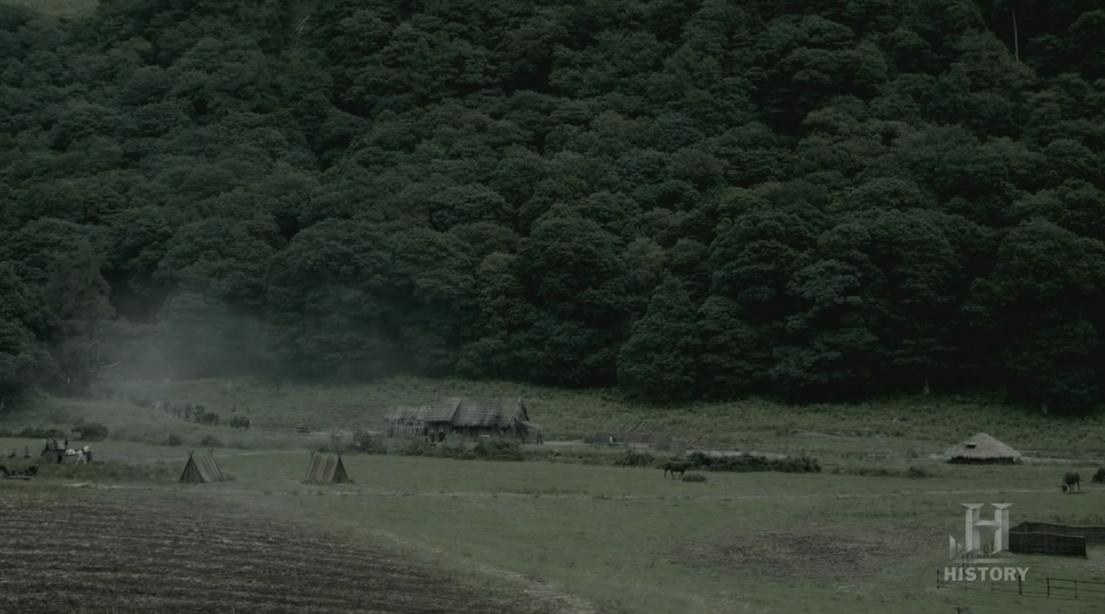 El asentamiento vikingo.
