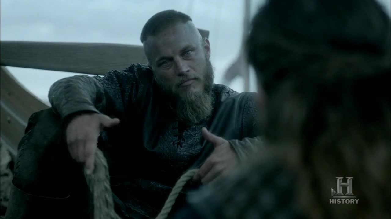 Ragnar en plan filosófico.
