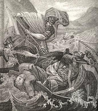 La Muerte de Sviatoslav de Borís Chórikov.