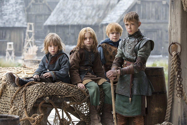 Ubbe, Ivar, Hvitserk y Sigurd