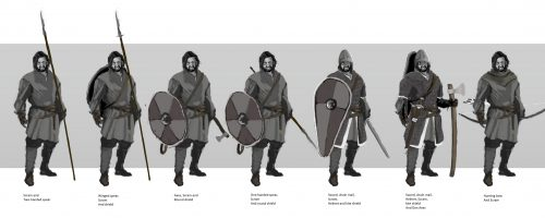 Armas vikingas Viking weapons